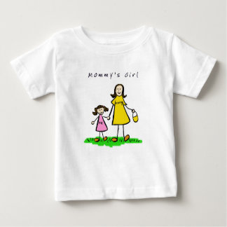 Mommy & Me (Brunette with Title) Tee Shirt