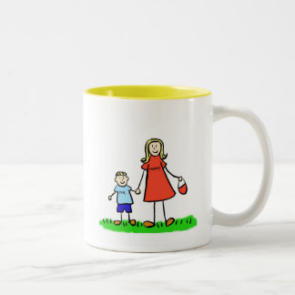 Mommy & Me Mug (Blond with No Title)