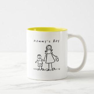Mommy & Me Mug(Drawing with Title) Two-Tone Mug