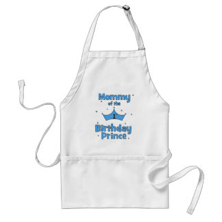 Mommy of the 1st Birthday Prince Apron