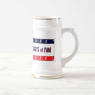 Mommy or Daddy's # 1 Fan Beer Stein