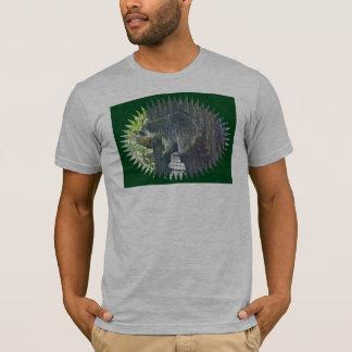 Mommy Raccoon on Suet T-Shirt