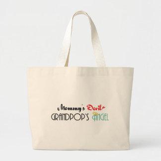 Mommy s Devil Grandpop s Angel Bags