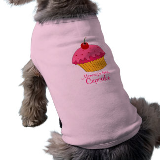 Mommy s little Cupcake Doggie T-shirt
