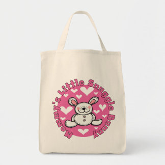 Mommy s Little Snuggle Bunny Tote Bag
