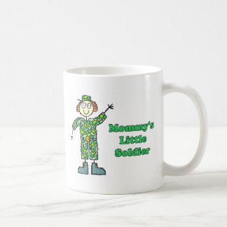 Mommy s Little Soldier Coffee Mugs