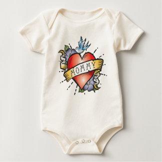 Mommy Tattoo Baby Bodysuit