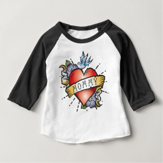 Mommy Tattoo Baby T-Shirt