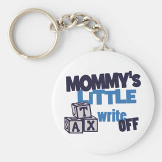 Mommy Tax Write Off Basic Round Button Key Ring