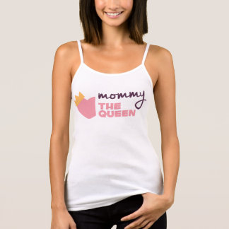 Mommy the Queen Mother's Day Spaghetti Strap Tank Top
