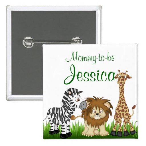 Mommy-to-be Baby Shower Button