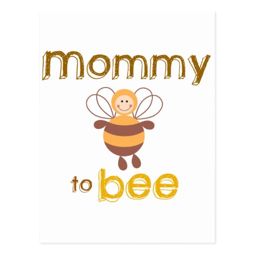 Mommy to Be Post Cards