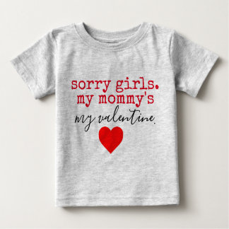 mommy valentine baby T-Shirt