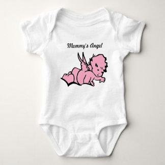 Mommy's Angel Bodysuit Pink