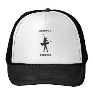 Mommy's ballerina cap