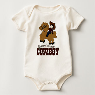 Mommy's Cutest Cowboy Baby Bodysuit
