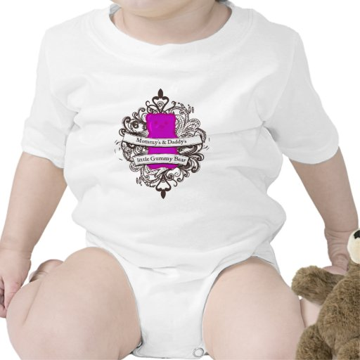 Mommy's & Daddy's Little Gummy Bear Tee Shirts