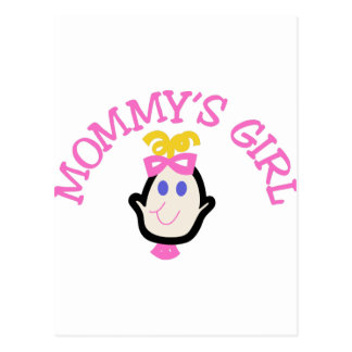 Mommys Girl Postcard