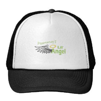 MOMMYS LIL ANGEL TRUCKER HATS