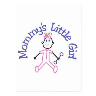 Mommys Litte Girl Postcard