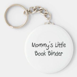 Mommys Little Book Binder Key Chain