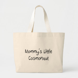 Mommys Little Cosmonaut Tote Bags