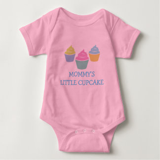 Mommys little cupcake cute one piece baby jumpsuit