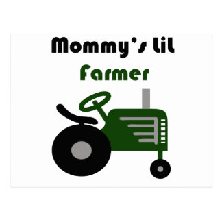Mommy's Little Farmer Postcard