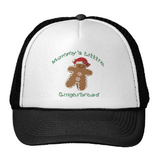 Mommy's Little Gingerbread with a bow. Cap