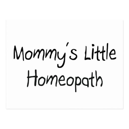 Mommys Little Homeopath Post Cards
