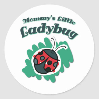Mommy's Little Ladybug Sticker