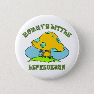 Mommy's Little Leprechaun 6 Cm Round Badge