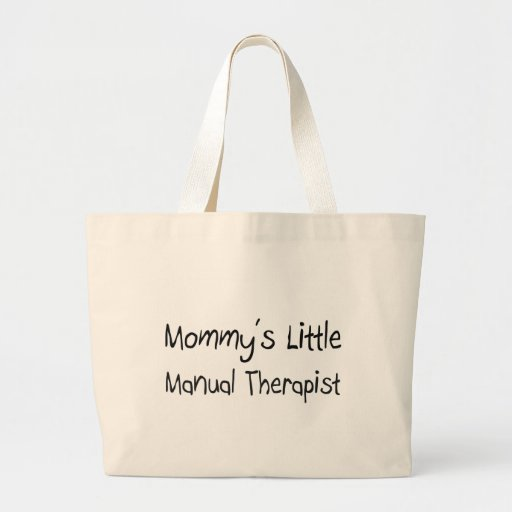 Mommys Little Manual Therapist Tote Bag