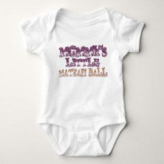 Mommy's little matzvah ball tee shirts