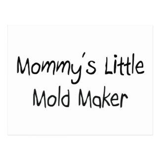 Mommys Little Mold Maker Postcard