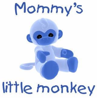 Mommy's Little Monkey (blue) Photo Cutouts