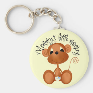 Mommy's Little Monkey - Boy Tshirts and Gifts Key Ring