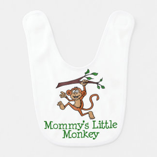 Mommy's Little Monkey Cute Bib