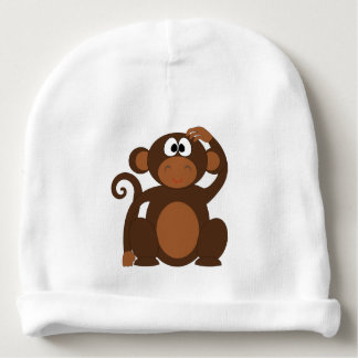 MOMMYS LITTLE MONKEY HAT BABY BEANIE