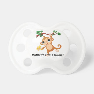 Mommy's Little Monkey Pacifier