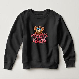 Mommy's Little Monkey Toddler Sweatshirt