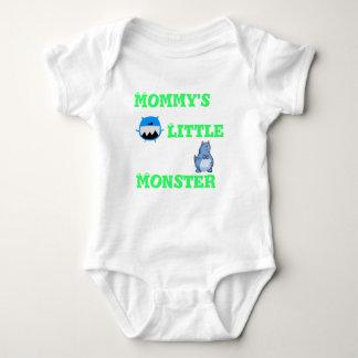 mommys little monster baby bodysuit