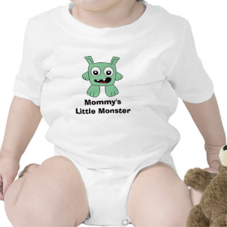 Mommy's Little Monster Shirts
