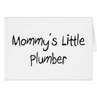 Mommys Little Plumber Card