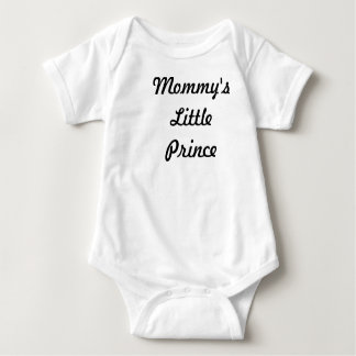 Mommy's Little Prince T Shirt