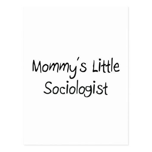 Mommys Little Sociologist Postcards