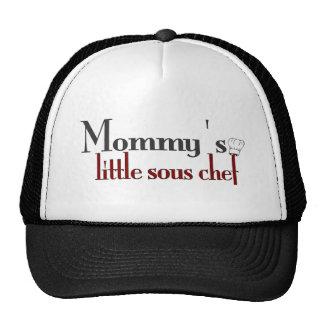 Mommy's little sous chef cap