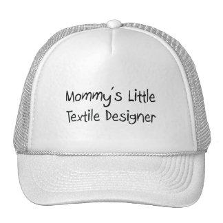 Mommys Little Textile Designer Hats