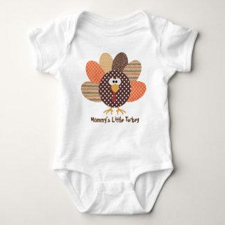 Mommy's Little Turkey Baby Shirt