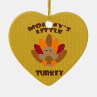 Mommy's Little Turkey Christmas Ornament